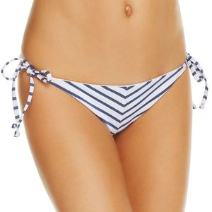 Splendid Chambray All Day Side Tie Bikini Bottom